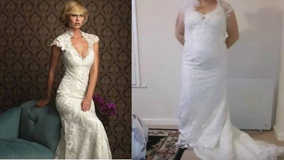 Why you shouldn't buy a plus size wedding dress online