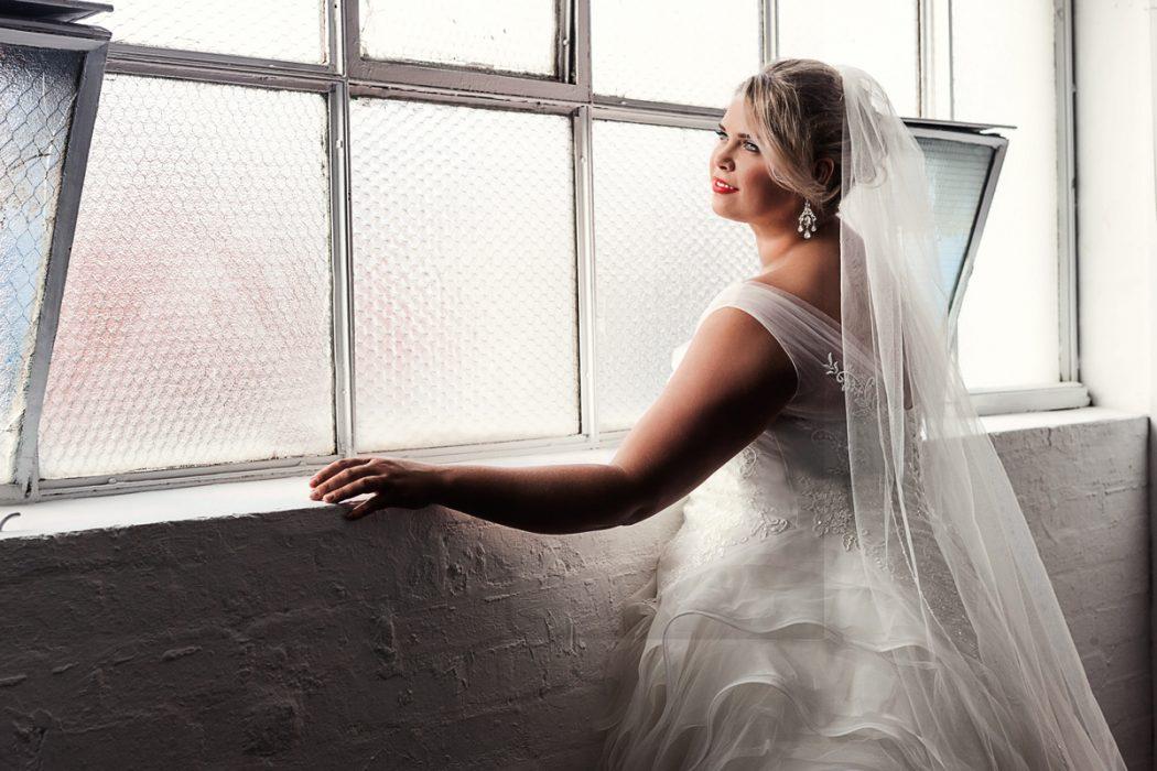 Hollywood plus size wedding dress